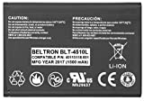 New BELTRON Replacement Battery for Novatel MiFi 4510 4510L Mobile Hotspot - P/N: 40115118.001 40115118.003