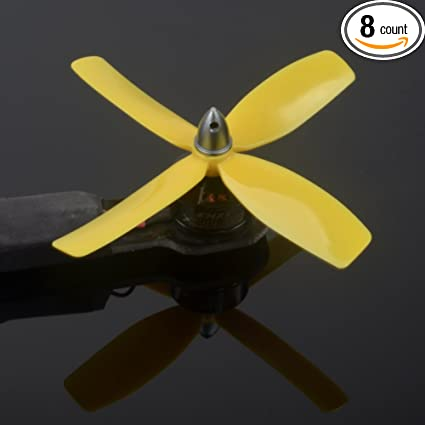 Quad-Blades 4040 Bullnose Propeller (5 Sets, 10CW, 10CCW) for Quadcopter  4040x4 Props for Drone Helicopter FPV RC Racing XSOUL