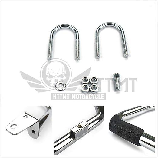 B07QRXNKSM EG06 Chrome 1 1//4 Engine Guard Highway Crash Bar Compatible With Harley Dyna FLD FXDB FXDF SMT