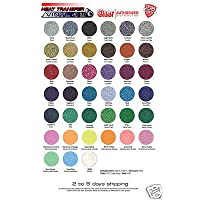 Siser Glitter Heat Transfer Vinyl 20 x 12 (30 sheets of assorted colors)
