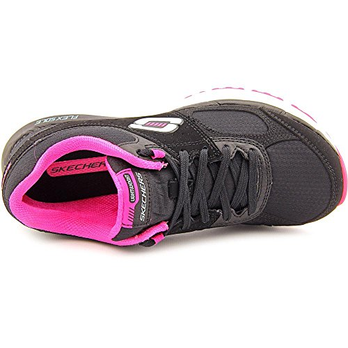 Skechers Sport Womens Rampe De Mode Sneaker Noir / Rose