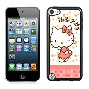 Personalized Design Ipod Touch 5 Hello Kitty 38 Cell Phone Cover Case for Ipod Touch 5th Generation Black