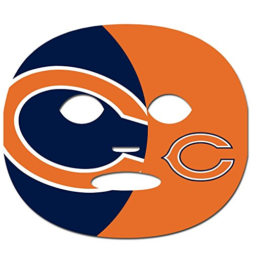Chicago Bears Black Face - NFL Chicago Bears Game Day Face Temporary Tattoo