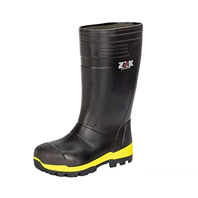 Lxso Men's Work Boots Steel Toe Safety Shoes for Mine Port Oil Field Farm: Shoes