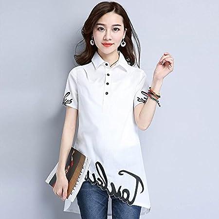 Mayihang Blusa Camisa La Sra. Camisa Larga Camiseta Manga ...