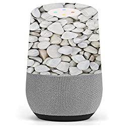 Skin Decal Vinyl Wrap for Google Home stickers skins cover/ White Rocks