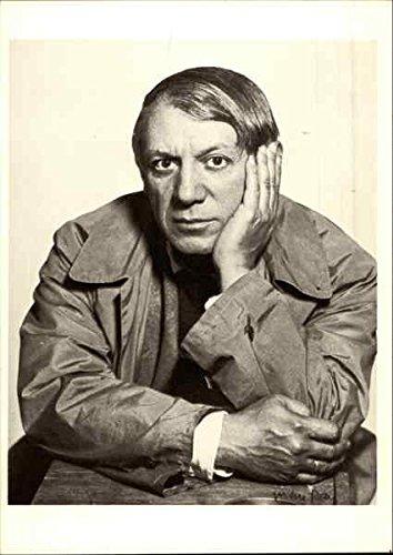 Pablo Picasso, c. 1931 Celebrities Original Vintage Postcard