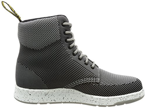 Knit Martens Dr Womens Mid Boots Knit Grey Textile Rigal CtC6q
