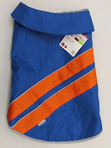 Good2Go Blue and Orange Sports Dog Jacket~XL~