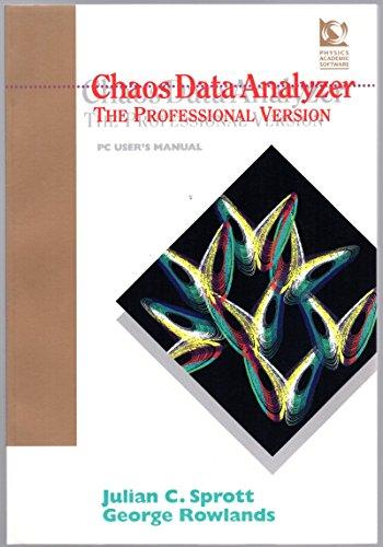 Chaos Data analyzer: The Professional Version - PC User's (Analyzer Users Manual)