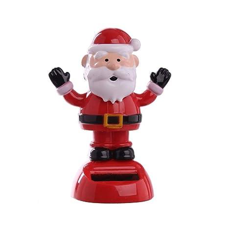 Father Christmas Cartoon Images.Amazon Com Solar Power Powered Animated Christmas Xmas