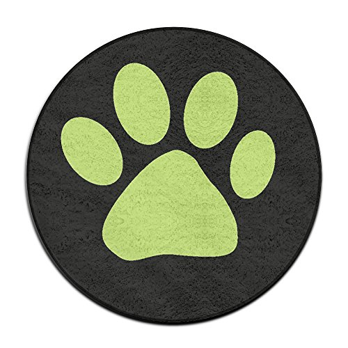 [Miraculous Ladybug Cat Noir Logo Round Non-Slip Door Mat 23.6 Inches In Diameter] (Easy Bane Costumes)