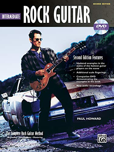 Complete Rock Guitar Method: Intermediate Rock Guitar, Book & DVD-ROM (Complete Method) ()