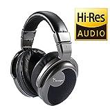 Spadger Over-Ear Headphones and Professional Studio DJ Headphones with Plug Adapter