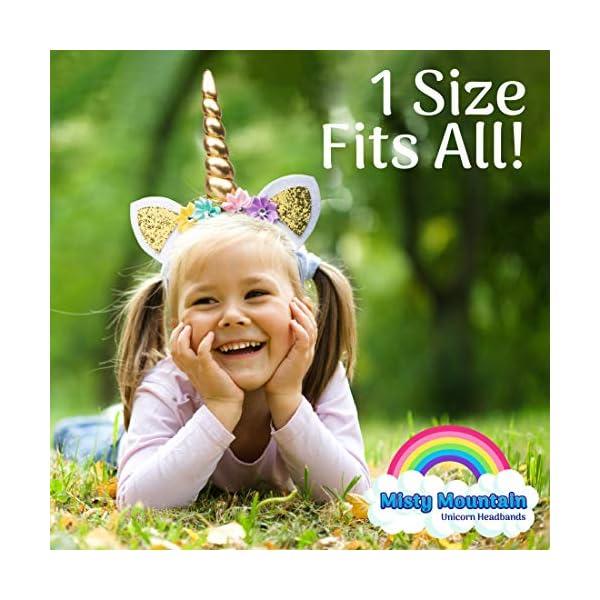 USA Toyz Unicorn Headband Party Favors - 6pk Unicorn Party Supplies, Unicorn Horn Headbands for Girls and Boys 5