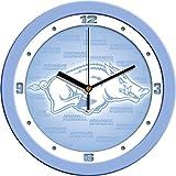 SunTime NCAA Arkansas Razorbacks Wall Clock - Baby Blue
