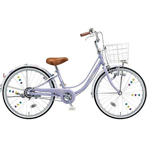 ブリヂストン(BRIDGESTONE) 女の子用自転車 リコリーナ RC40 E.Xティーンラベンダー 24インチ変速なし ダイナモランプ B0725JVMD9