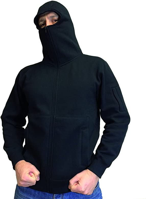 No Face No Name Ninja de Capucha Chaqueta Style Warrior ...