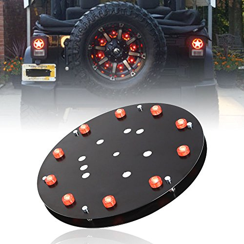 Spare Tire LED Third Brake Light For Jeep Wrangler 2007-2016