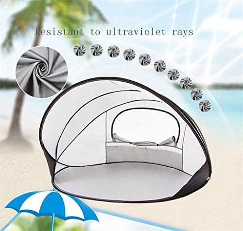 KEDUODUO Tienda de la Playa, 1-2 Persona Sun Shade Refugio a Prueba de Agua del pabellón de Deportes al Aire Libre Montañismo Viajes,Blanco