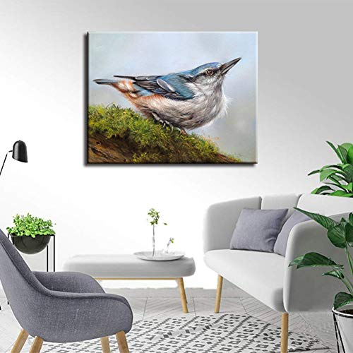 NEILDEN 5D Diamond Painting Kits for Adults, Animals Diamond Art Kits for Kids, Full Drill Diamond Painting for Home Wall Decor 12×16 Inches (Bird)