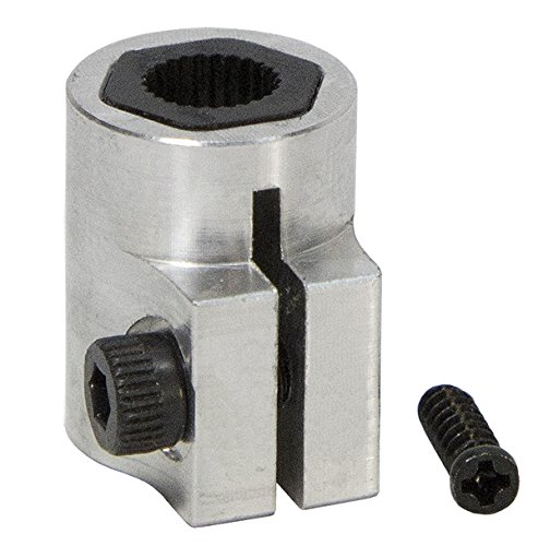 "1/8"" Futaba Servo to Shaft Coupler ServoCity"