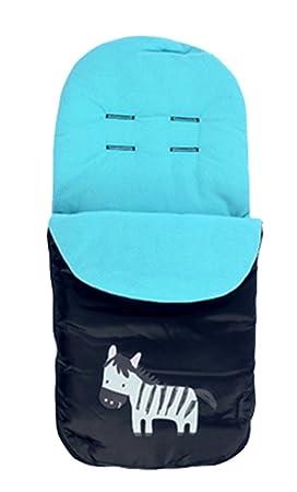 Buggy - Saco bebé viaje Universal saco invierno polar saco de dormir Fit para bebé cochecito cochecito cochecito asiento de coche gris por zuoao: Amazon.es: ...