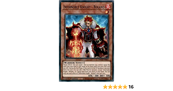 roland TOCH-EN014 ultra 1st infernoble knight