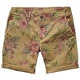 Pepe Jeans Mens Mc Queen Floral Print Shorts Beige Size Us 30W Fr 36/38
