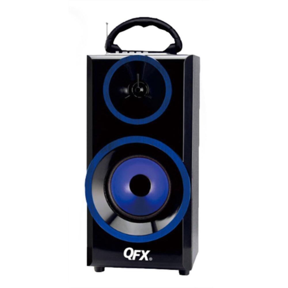 QFX Multimedia Seaker with RM Radio-Blue consumer electronics Electronics