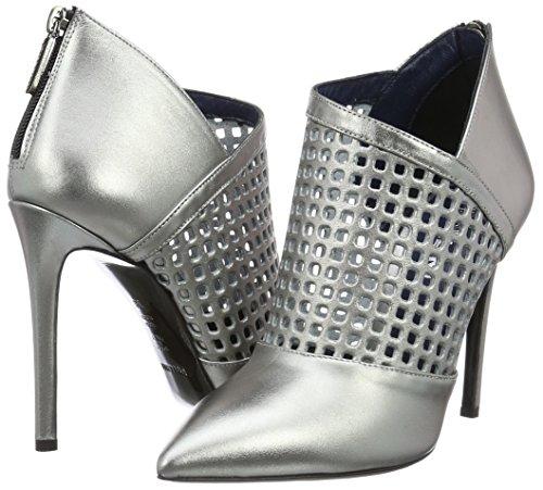 Sa1007 Pollini Donna Shoes grey Scarpe Tacco Con 906 Grigio Cq5SqHx