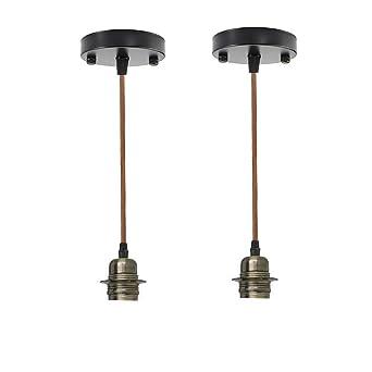 LEDSONE - Soporte flexible para lámpara de techo, moderno ...