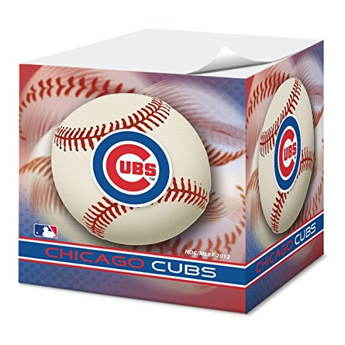National Design Chicago Cubs 2.75-Inch Sticky Note Cube (CUS-FAG)