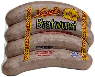"product image for Koegel Bratwurst Sausage 20-6"" pieces"