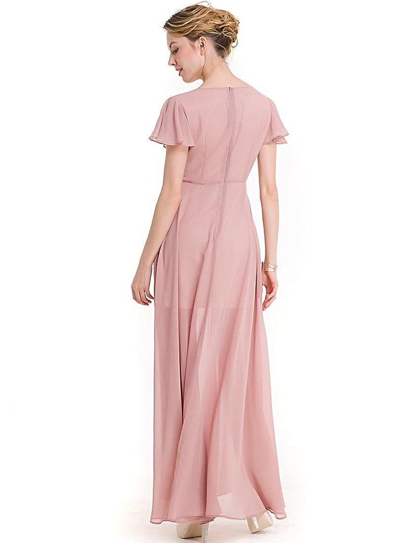 KAXIDY Vestidos Moda Largo Vestidos Casuales Coctel Maxi Vestido ...
