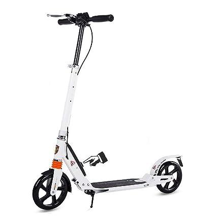 Patinete- Kick Scooter Plegable para Adultos/Adolescentes ...