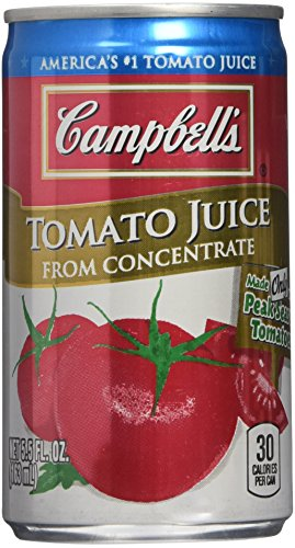 CAMPBELL'S TOMATO JUICE 6 5.5oz 2 pack by Campbell's