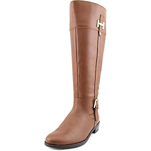 72f94a0c178 Karen Scott Deliee Wide Calf Round Toe Synthetic Knee High Boot