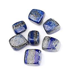 TGS Gems® 1/2lb Bulk Natural Lapis Lazuli Tumbled Stones 1/2\