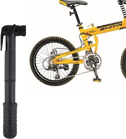 Hinmay Minibomba de Bicicleta – Boquilla Doble Compatible con la ...