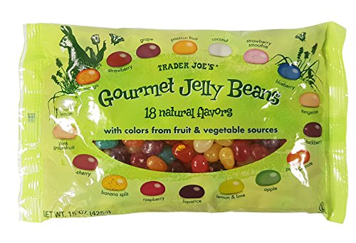 Trader Joe's Gourmet Jelly Beans 18 Natural Flavors 15 oz.