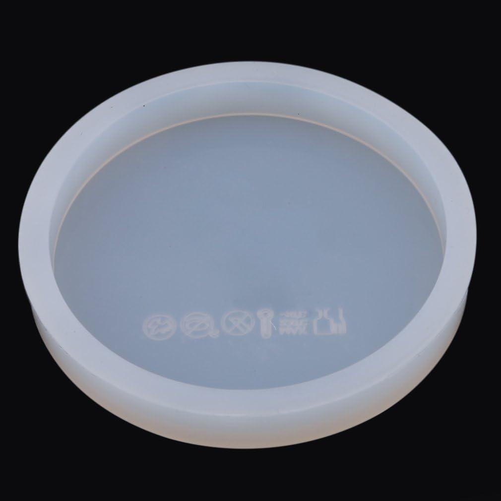 Jixing Runde Quadratische Form Silikonform Kristall Kleber Form Eisw/ürfelschale Form Kekse Backformen Backen Werkzeug,Wie Das Bild,6.2*6.2cm