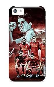 New Premium Flip Case Cover Liverpool Fc Squad 2012-2013 Skin Case For Iphone 5c
