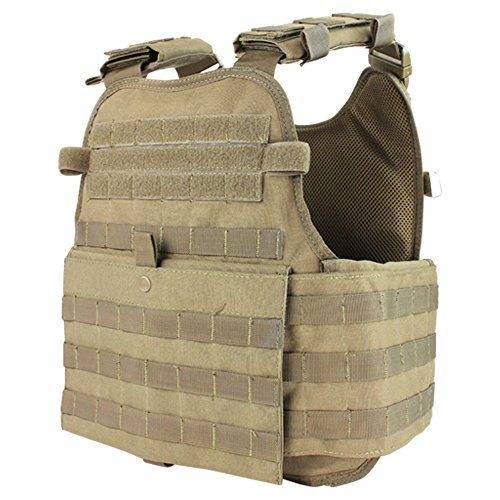 Condor Outdoor MOPC Gear Vest LBE Tactical Molle (Tan) (Outdoor Plates compare prices)
