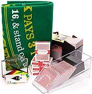 4 Deck Blackjack Set - All-in-one Blackjack Kit