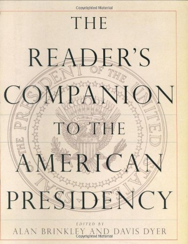 Download The Reader's Companion to the American Presidency pdf