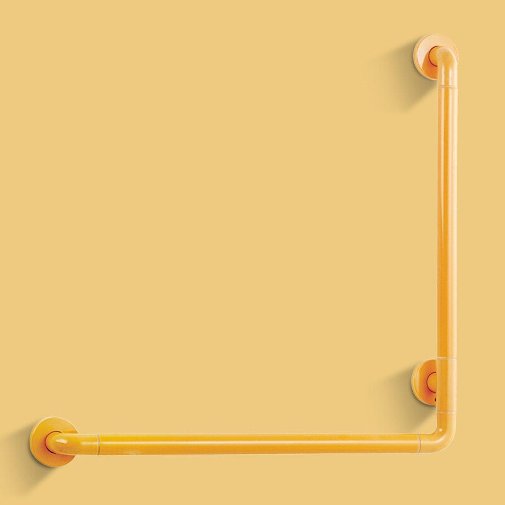 バスルーム手すり、バスルームノンスリップ安全L型アームレスト ( 色 : イエロー いえろ゜ , サイズ さいず : 700*700mm ) B07B8YNBSR 700*700mm|イエロー いえろ゜ イエロー いえろ゜ 700*700mm