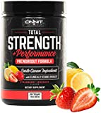 Onnit Total Strength and Performance - Stimulant-Free Pre-Workout Supplement - Strawberry Lemonade (30 Servings)