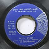 Mitch Ryder and the Detroit Wheels 45 RPM Baby Jane (Mo-Mo Jane) / Jenny Take a Ride!