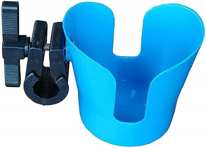 Shopping Cart Small Collapsible Adjustable Bottle Holder for Stroller Bluecell World Black Color Neoprene Stroller Cup Holder Universal Cup Holder Wheelchair Trolleys Walker